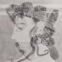 Микены. Фрагмент фрески XIII в. до н.э. Национальный музей в Афинах. Фото: Анджей Дзевановский