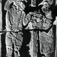 Притолока 26. Йашчилан. Культура майя