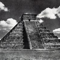 Храм Кастильо в Чичен-Ица. Культура майя