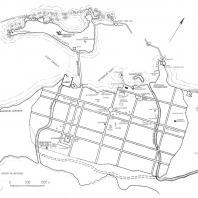 План древней Александрии