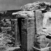 Александрия Египетская. Алебастровая гробница на католическом кладбище в квартале Шатби. Эллинистический период