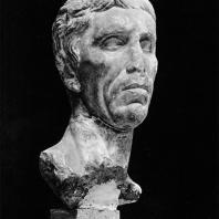 Портрет мужчины. Мрамор. Конец I в. до н. э. Греко-римский музей в Александрии
