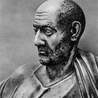 Портрет старика. Мрамор. Конец II в.н.э. Греко-римский музей в Александрии