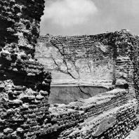 Александрия Египетская. Ком эль-Дикка. Бассейн в римских термах. Вид с восточной стороны. IV в.н.э.