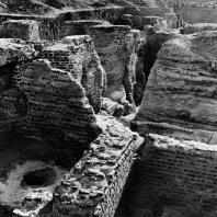 Ком эль-Дикка. Римские термы в процессе раскопок Польской археологической экспедиции