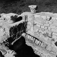 Александрия Египетская. Фрагмент арки под верхней частью театра