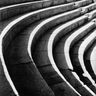 Александрия Египетская. Ком эль-Дикка. Римский театр. Реконструированная южная часть театрона
