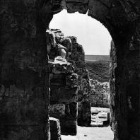 Александрия Египетская. Ком эль-Дикка. Часть свода в южном коридоре театра