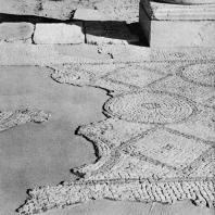 Александрия Египетская. Ком эль-Дикка. Фрагмент мозаики театра