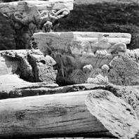 Александрия Египетская. Ком эль-Дикка. Часть так наз. лапидария на верхней части театра
