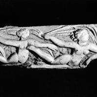 Плакетка из слоновой кости с изображением Нереид. IV в.н.э. Греко-римский музей в Александрии