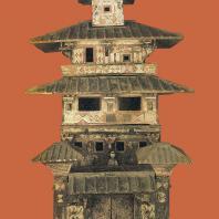 Хэнань, провинция. Модель многоэтажного дома, I—II в. н. э.