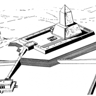 Солнечный храм Ниусер-ра. Реконструкция