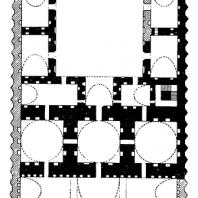 План дворца в Горе