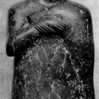 Статуэтка из Ура. Около 2500 г. до н. э. Лондон. Британский музей