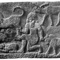 Хеттский рельеф из Секче-Гезу Около 7 в. до н. э.
