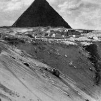 Пирамида фараона Хафра в Гизэ. IV династия. Первая половина 3 тыс. до н. э.