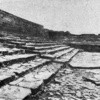 Дворец в Фесте (Крит). Лестница. Середина 2 тысячелетия до н. э.