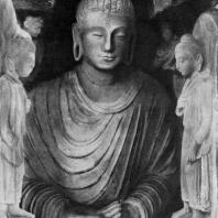 Статуя Будды в Таксиле. 2 в. н. э.
