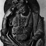 Статуя Авалокитешвары из Гандхары. 2—3 вв. н. э. Берлин