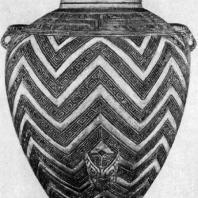 Белый керамический сосуд из Аньяна. Период Шан (Инь). 2 тыс. до н. э. Вашингтон