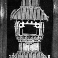 Керамическая модель башни. Период Хань. 3 в. до н. э. — 3 в. н. э. Пекин. Исторический музей