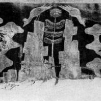 Ткань из погребения в Ноин-ула (северная Монголия). Период Хань. 3 в. до н. э. — 3 в. н. э. Ленинград. Эрмитаж