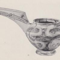 Керамический сосуд, найден в Василиках (Крит), раннеминойский период. Фото: Анджей Дзевановский