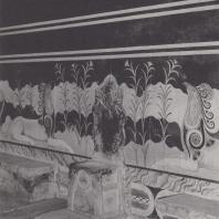 Тронный зал в Кноссе (Крит), XV в. до н. э. Фото: Анджей Дзевановский
