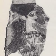 """""""Парижанка"""", фреска из дворца в Кноссе, Крит, XV в. до н. э. Фото: Анджей Дзевановский"""