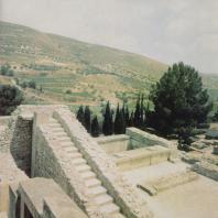 Лестница дворца в Кноссе. Крит. Фото: Анджей Дзевановский