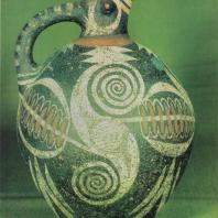 Керамический кувшин. Фест, Крит. XIX-XVIII в. до н. э. Фото: Анджей Дзевановский
