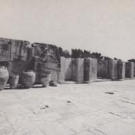 Северный фасад дворца в Фесте (со стороны двора). Крит. Фото: Анджей Дзевановский