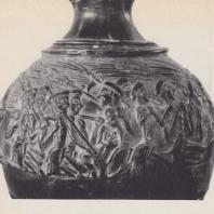 Ваза «Жнецы». Агия Триада, Крит. XVI в. до н. э. Фото: Анджей Дзевановский