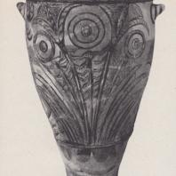 Питос с узором папируса. Кносс, Крит, конец XV века до н.э. Фото: Анджей Дзевановский