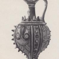 Кувшин с накладной отделкой, Кацаба, недалеко от Кносса, Крит, около 1400 г. до н.э. Фото: Анджей Дзевановский