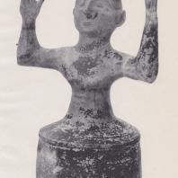 Статуя богини Великой Матери-земли, Крит, начало XIII в. до н. э. Фото: Анджей Дзевановский