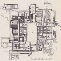 План дворца в Кноссе, Крит