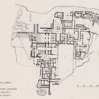 План дворца в Фесте, Крит