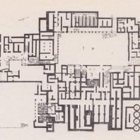 План дворца в Малиа, Крит
