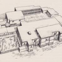 Реконструкция дворца в Малиа, Крит