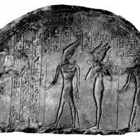Стела Харемхеба. Первая половина XIV в. до н. э. Мемфис