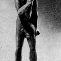 Статуэтка фараона Тахарки. 689—667 гг. до н. э. Фивы