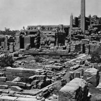 Карнак. Египет. Храм Амона. Вид с юго-востока. Фотограф: Анджей Дзевановский
