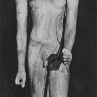 Фараон Хор. Деревянная статуя найдена в Дашуре. XIII династия. Египетский музей в Каире. Фото: Анджей Дзевановский