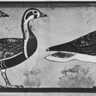 Гуси из Медума. Фрагмент росписи из гробницы. IV династия. Египетский музей в Каире. Фото: Анджей Дзевановский