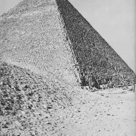 Пирамида Хеопса. Вид с юго-запада. Фото: Анджей Дзевановский