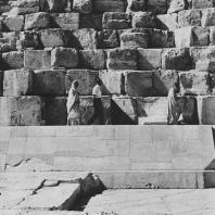 Пирамида Хеопса. Северная сторона. Фото: Анджей Дзевановский