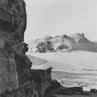 Угол гранитного храма Хефрена в Гизе. Фото: Анджей Дзевановский