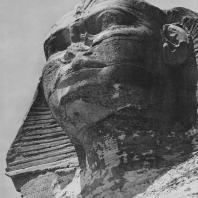Голова сфинкса. Гизе. Египет. Фото: Анджей Дзевановский
